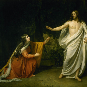 Alexander Ivanov painting of Jesus appearing to Mary Magdalene