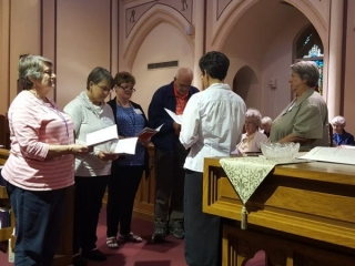 Oblate candidates become Oblate Novices