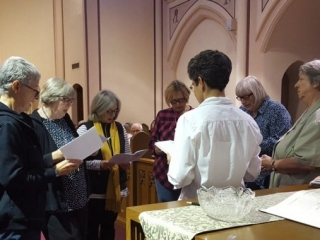 Oblate Novices make their Final Oblation
