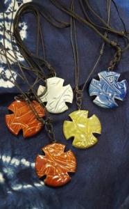 Benedictine Cross pendants