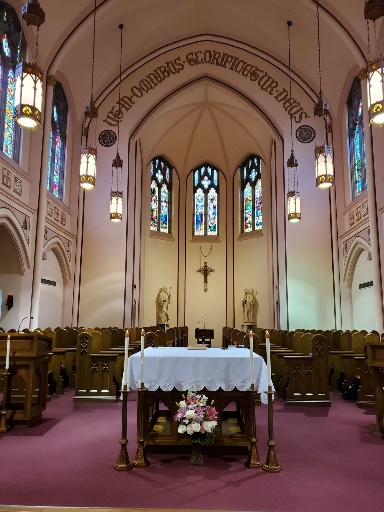 Sacred Heart Monastery Chapel