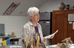 Sister Adrian teaching