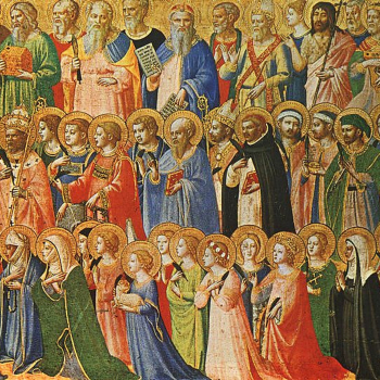 Fra Angelico Predella Alterpiece left panel