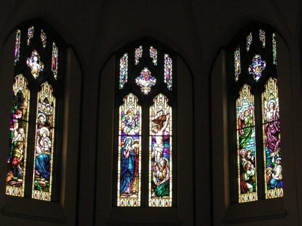 Apse clerestory windows