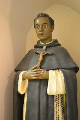 St. Martin de Porres statue