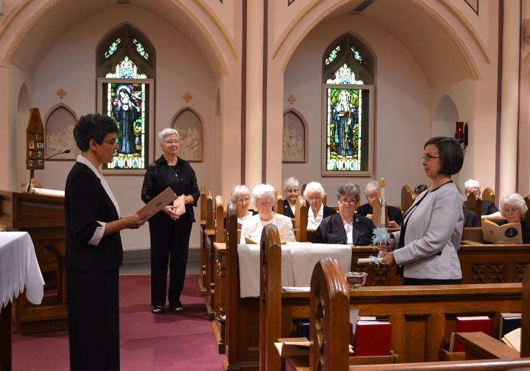 Sister Michelle makes final profession