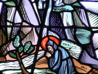 Image from the life of St. Benedict