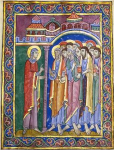 Image from St. Albans Psalter of Mary Magdala
