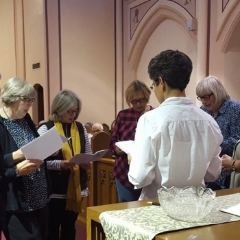 Oblates make their final oblation to the community