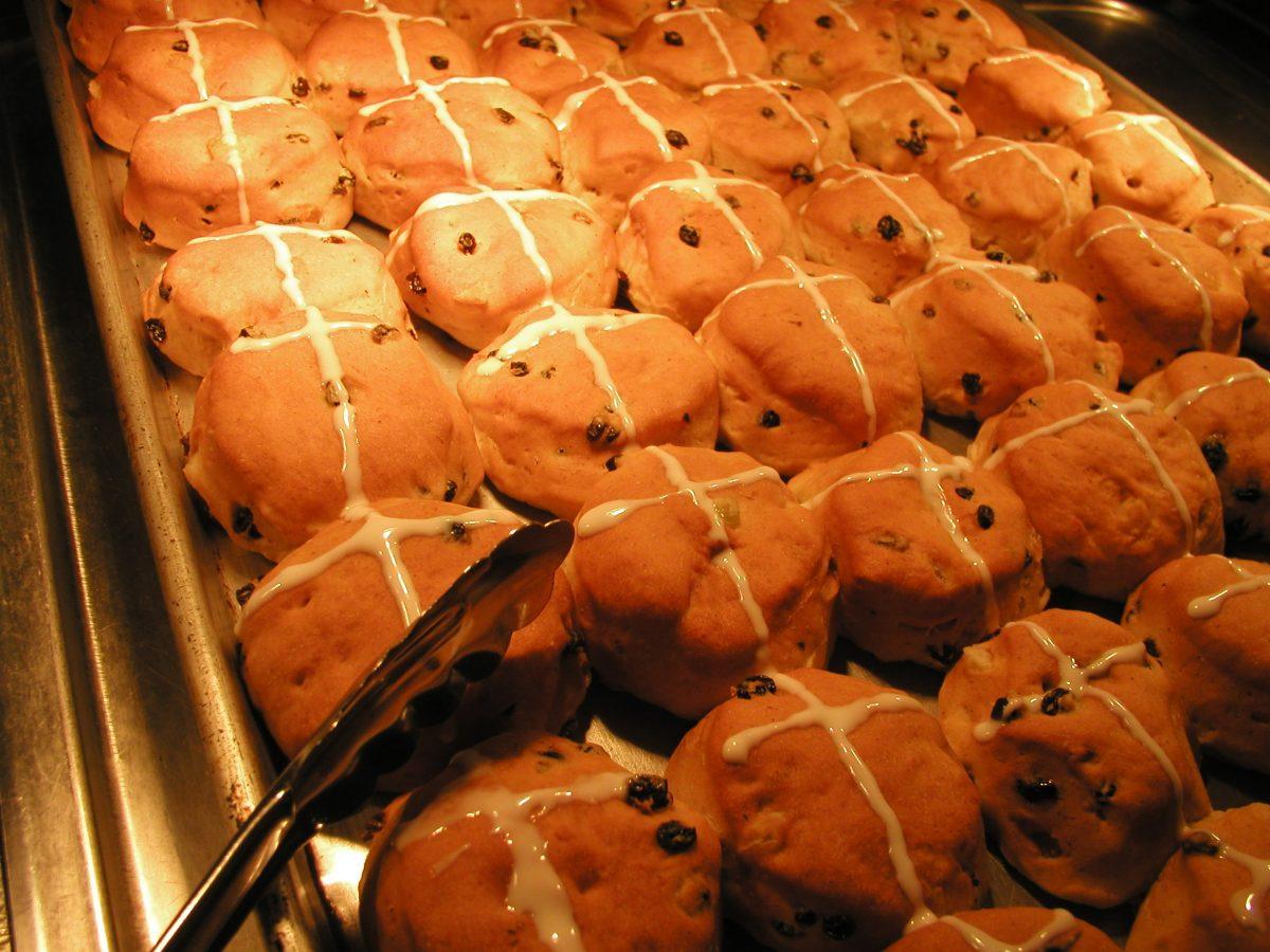 Sister Kathleen's hot cross buns