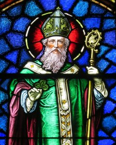 St. Patrick window in St. Patrick Church in Junction , OH