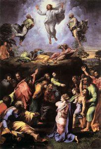 Transfiguration by Raffaello